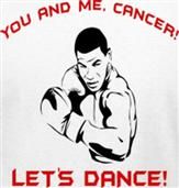 CANCER DANCE t-shirt design idea