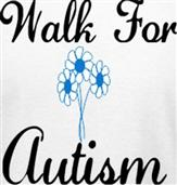 WALK AUTISM t-shirt design idea