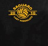 SAGUARO LADYS VOLLYBALL t-shirt design idea