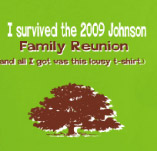 I SURVIVED THE FAMILY REUNION t-shirt design idea