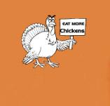 EAT MORE CHICKEN t-shirt design idea