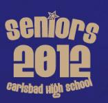 CARLSBAD SENIORS BLUE t-shirt design idea