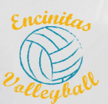 ENCINITAS VOLLYBALL t-shirt design idea