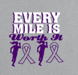 EVERY MILE IS WORTH IT t-shirt design idea