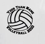 HIGH SCHOOL VOLLEYBALL t-shirt design idea