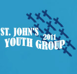 ST. JOHNS YOUTH GROUP t-shirt design idea