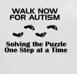 WALK NOW FOR AUTISM SOLVING THE PUZZLE t-shirt design idea