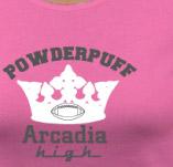 ARCADIA HIGH SCHOOL POWDERPUFF FOOTBALL t-shirt design idea