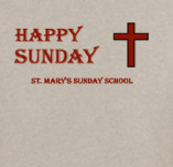 ST. MARYS SUNDAY SCHOOL t-shirt design idea