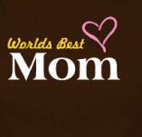 WORLDS BEST MOM t-shirt design idea