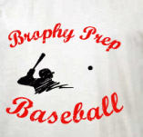 BROPHY PREP BASEBALL t-shirt design idea