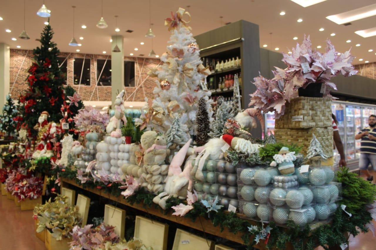 Decoração de Natal já chegou ao Spazio Mateus