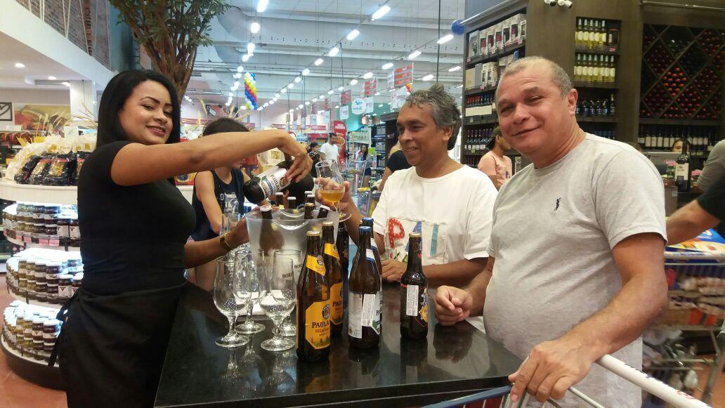 Mateus promove degustação de Paulaner durante Carnaval