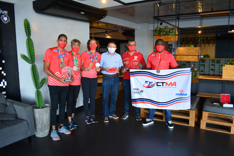 Grupo Mateus patrocina atletas convocados para  as Olimpíadas de Tóquio