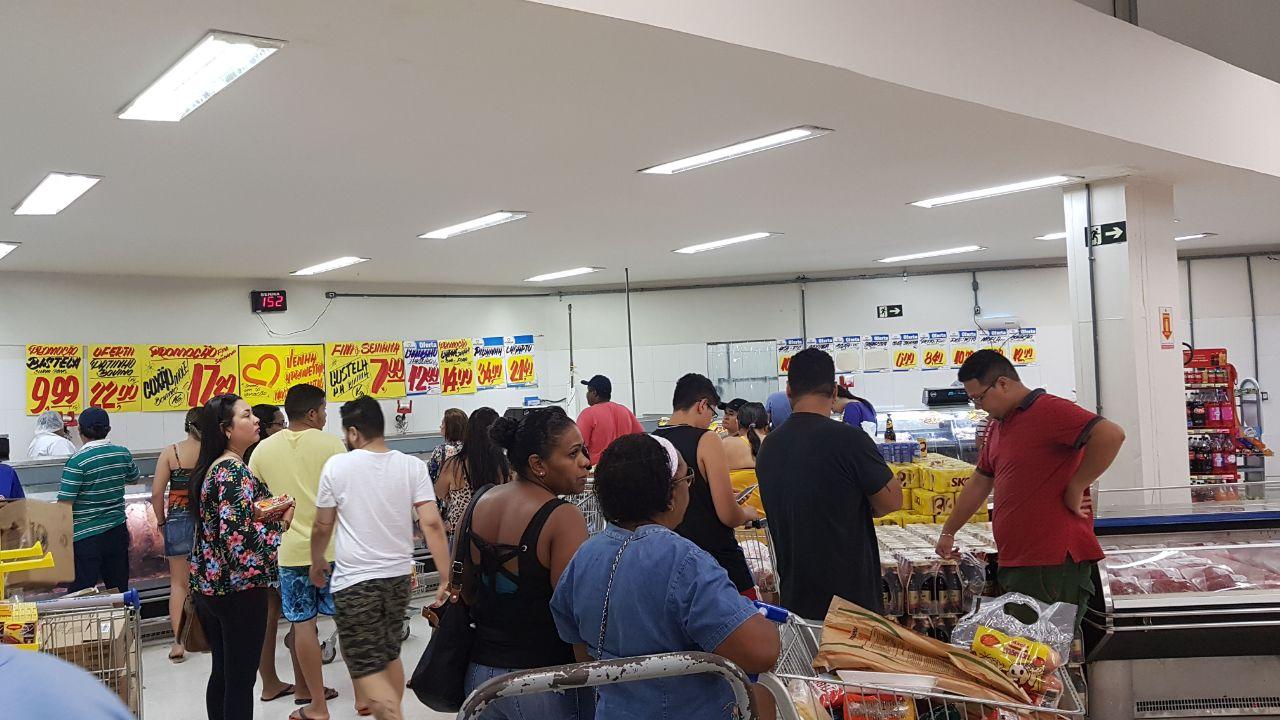 Novo horário atrai famílias à loja da Cohama
