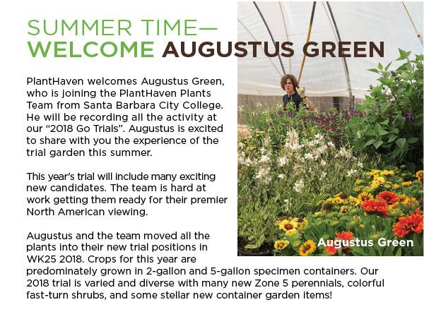 PlantHaven Ebrief Newsletter - July 2018