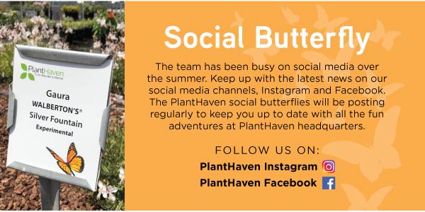 PlantHaven eBrief Newsletter - September 2018