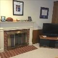 Two Cozy Fireplaces
