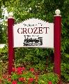 Crozet Sign