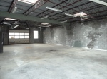 rear garagewarehouse space