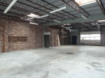 rear warehousegarage space
