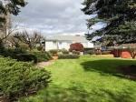 backyard with house