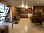 spacious basement