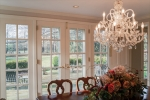 Formal Dining Room French Doors to the Patio