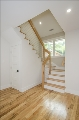 Light-Filled Stairway up to Second Story