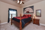 The 3rd of 3 spacious guest bedrooms.