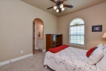 Another spacious guest bedroom.