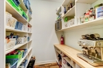 Large walk-in pantry - store small appliances