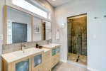 Stunning owners bathroom with walk-in shower