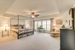 Terrace level guest suite