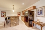 Bar with kitchenette for parties or guests!
