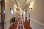 Tray ceiling gleaming hardwoods make a statement!