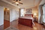 Beautiful hardwoods in owners suite