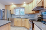 Galley Kitchen remodeled in 2016