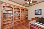 Built-ins in spacious study