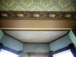 Ward parlor ceiling bay window