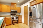 Pantry and ample cabinetry