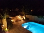 PoolPatio at Night