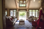 French doors to back decks