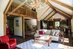 Vaulted barn wood ceilings