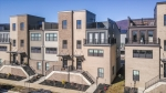 Modern 4-level end-unit townhome in Old Trail!