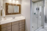 Owners en-suite bathroom with walk in shower