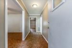 Parquet floors -front roomhallway  living room