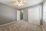 View of closet -front bedroom