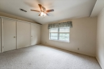 Good size bedroom at top of landing