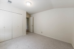 Lots of closet space in second bedroom